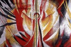 Erzengel Gabriel Acryl/Asche 2003 Diptychon