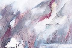 Nebelmond über Oberschönenfeld
