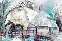 Winterl. Klostermühle, Thierhaupten