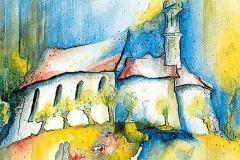 Kobelkirche im Frühling, Neusäß