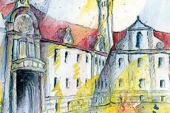 Fronhof mit fürstbischöflicher Residenz