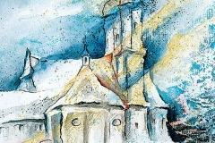 Kloster Holzen im Winter