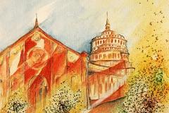 Kloster Santa Maria delle Grazie Mailand / Italien (Abendmahl von Leonardo da Vinci