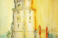 Torre de Belém von Lissabon Portugal