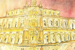 Semper-Oper von Dresden Deutschland