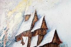 Stabkirche von Urnes, Holzbau um 1150 / Norwegen