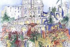 Spanische Treppe Rom / Italien