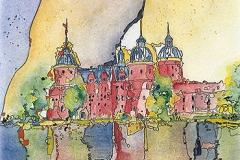Schweden / Mariefred / Schloss Gripsholm