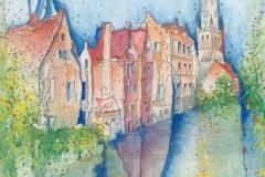 Belgien / Westflandern / Brügge / Altstadt mit Belfried