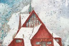 Schweden / Kirche von Kiruna