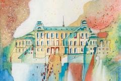 Schweden / Insel Lovõ / Königl. Sommerschloss Drottningholm