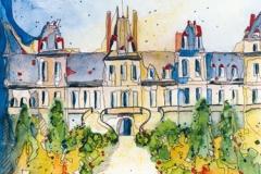Frankreich / Fontainebleau / Schloss