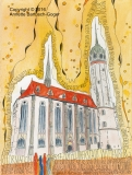 Deutschland Schlosskirche Wittenberg
