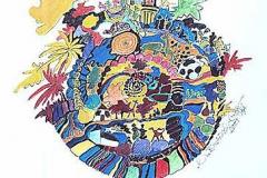 Erde 2001 HyA Illustration für Schulbuch